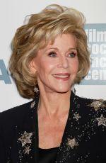 JANE FONDA at 2015 Chaplin Award Gala in New York