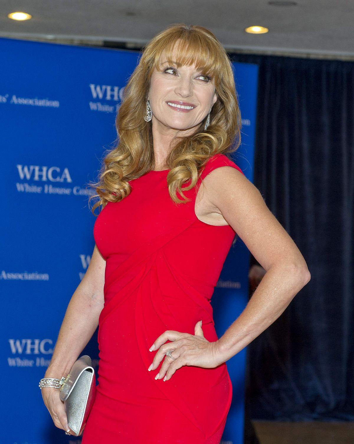JANE SEYMOUR at White House Correspondents Association Dinner in Washington