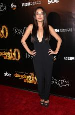 JANEL PARRISH at Dancing with the Stars 10th Anniversary in West Hollywood