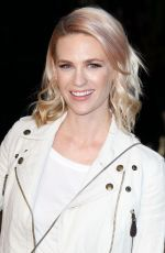 JANUARY JONES at Burberry London in Los Angeles Event in Los Angeles