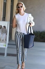 JANUARY JONES Out Shopping in Los Angeles 04/28/2015