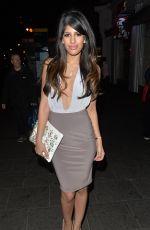 JASMIN WALIA at Cafe De Paris in London 04/18/2015