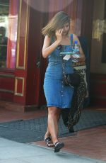 JENNA LOUISE COLEMAN Out and About in London