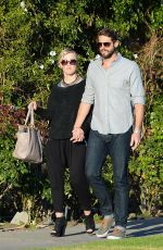 JENNIE GARTH and Dave Adams Out and About in Studio City