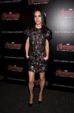 JENNIFER CONNELY at Avengers: Age of Ultron Screening in New York