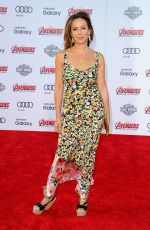 JENNIFER GREY at Avengers: Age of Ultron Premiere in Hollywood