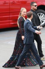 JENNIFER LOPEZ Arrives at American Idol Set in Hollywood 04/22/2015