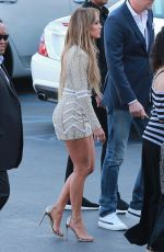 JENNIFER LOPEZ Arrives at American Idol Set in West Hollywood