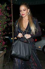 JENNIFER LOPEZ Arrives at Madeos Restaurant in West Hollywood 04/22/2015