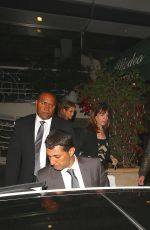 JENNIFER LOPEZ Leaves Madeo Restaurant in Los Angeles
