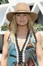 JENNIFER MORRISON at Popsuga + Shopstyle's Cabana Club Pool Parties in Palm Springs