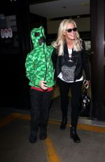 JENNY MCCARTHY Arrives at Los Angeles International Airport 07/24/2015