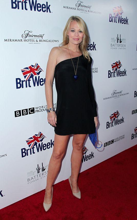 JERI RYAN at Britweek Red Carpet Launch in Los Angeles