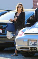 JESSICA ALBA and Cash Warren Out and About in Beverly Hills