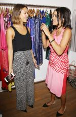 JESSICA ALBA and ROSARIO DAWSON at Studio One Eighty Nine Opening Ceremony in New York