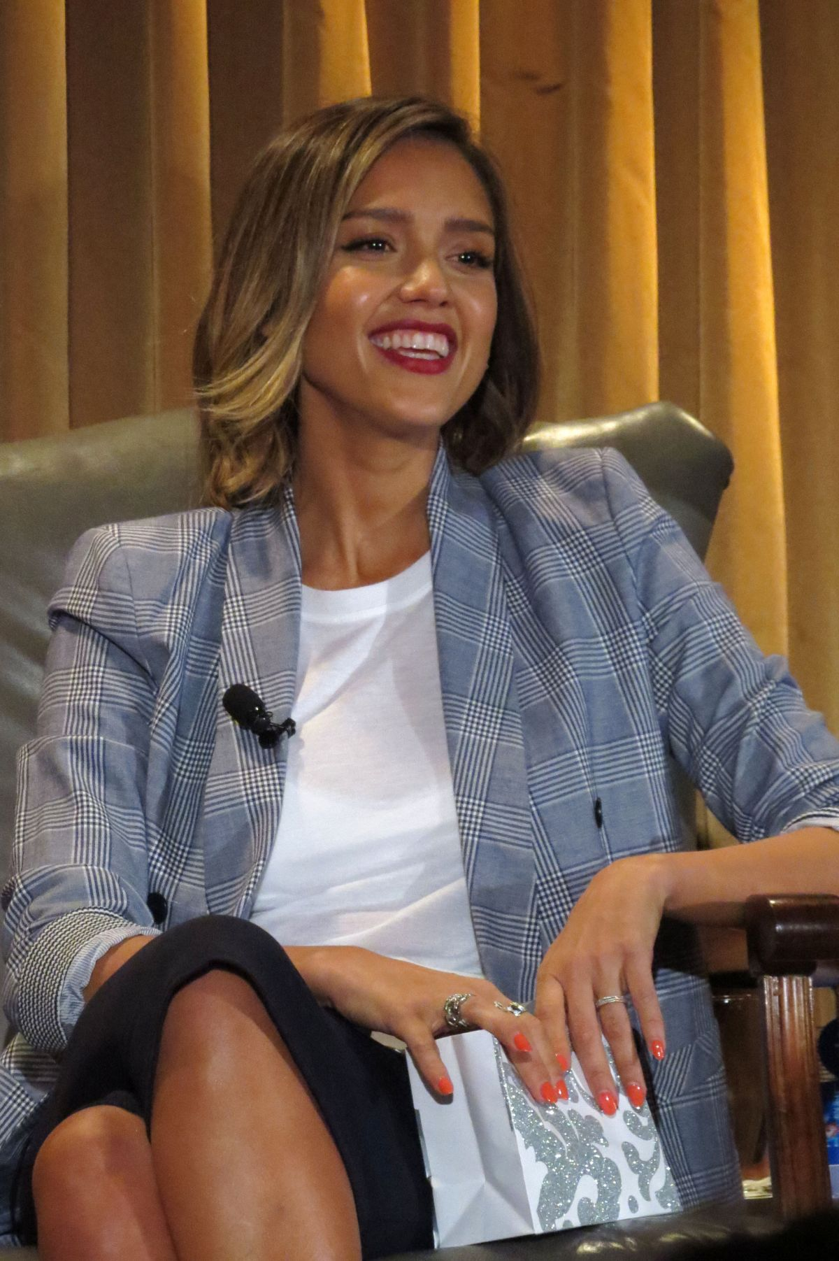 JESSICA ALBA at Honest...