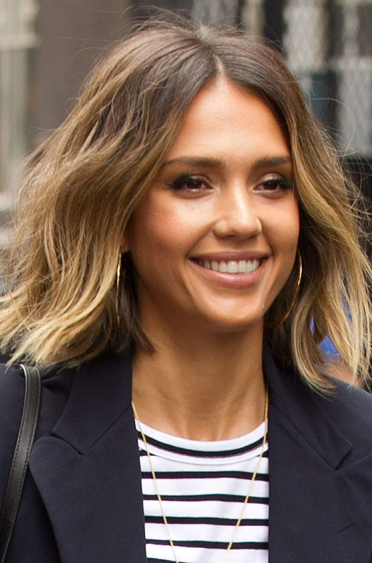JESSICA ALBA Leaves Her Hotel in New York - HawtCelebs