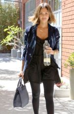JESSICA ALBA Out and About in Santa monica 04/28/2015