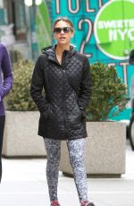 JESSICA ALBA Out and About in Soho in New York