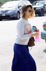 JESSICA ALBA Out and About in West Hollywood 04/23/2015