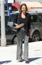 JESSICA ALBA Out for Lunch in Venice