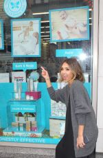 JESSICA ALBA Promotes The Honest Company in New York
