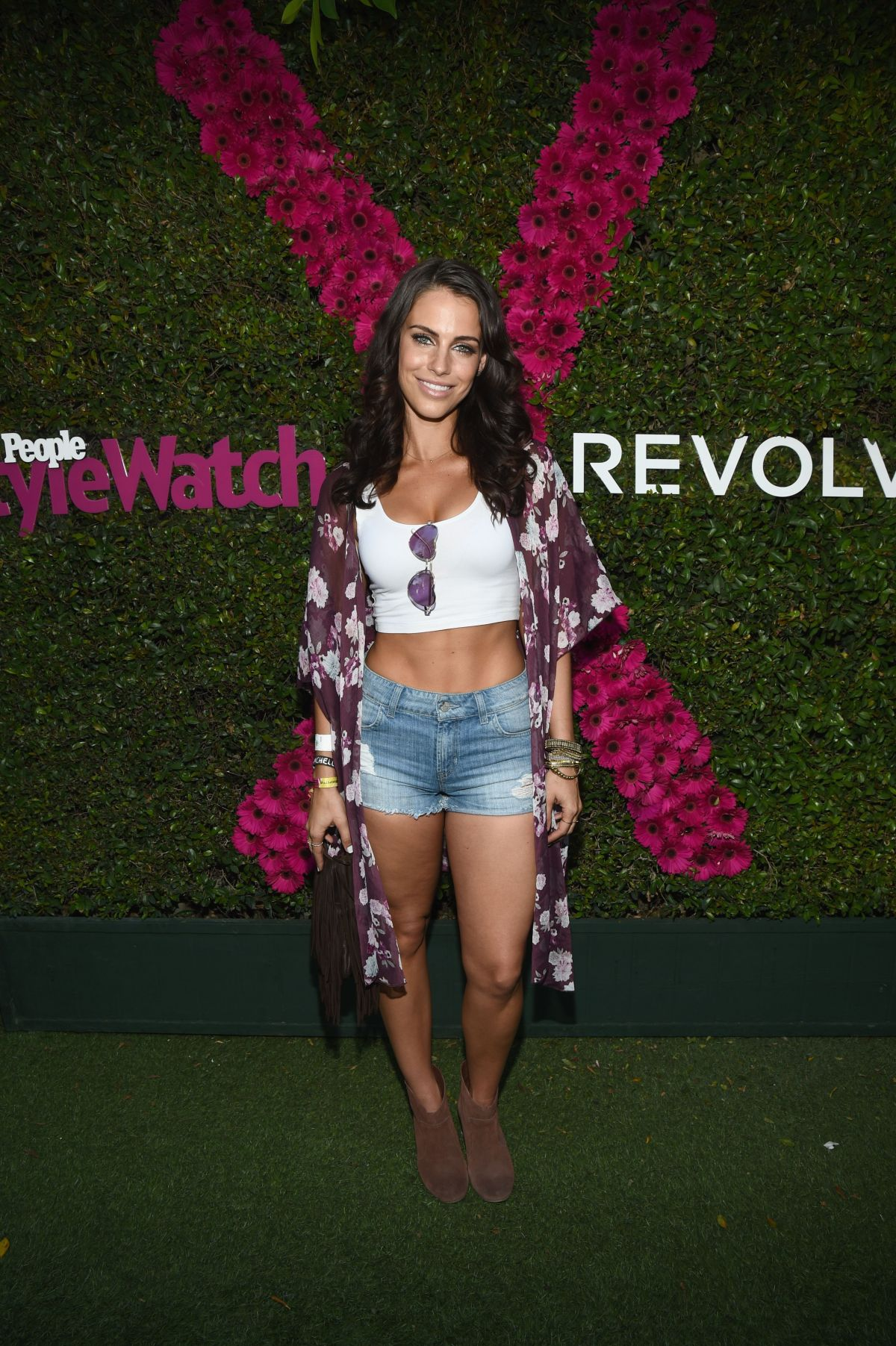 JESSICA LOWNDES at People Stylewatch & Revolve Fashion and Festival Event in Palm Springs