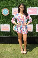 JESSICA LOWNDES at The Music Lounge at Coachella Festival in Palm Springs
