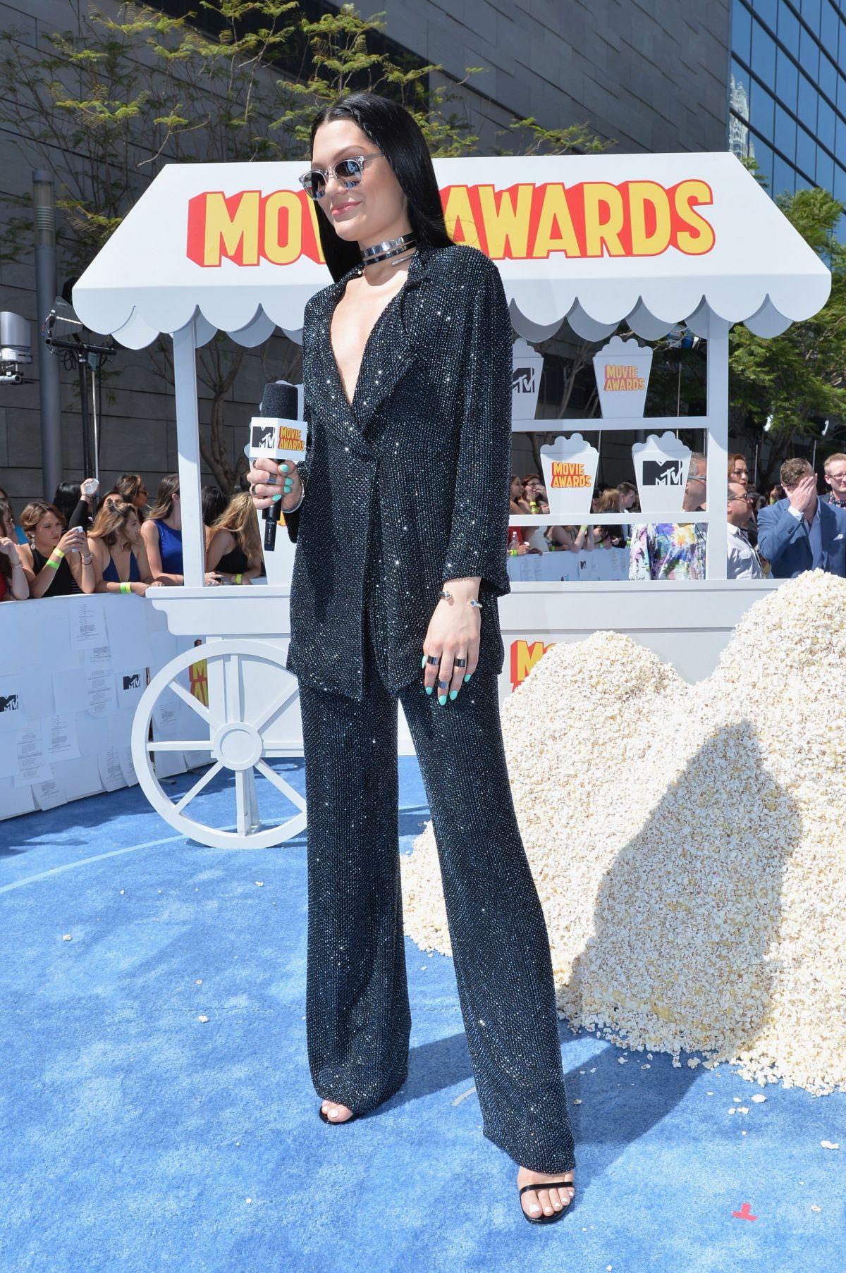 JESSIE J at 2015 MTV Movie Awards in Los Angeles