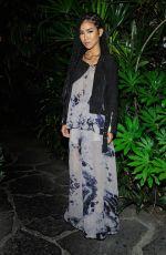 JHENE AIKO at Calvin Klein Jeans Celebration Launch of MyCalvins Denim in Los Angeles