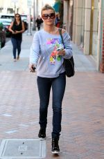 JOANNA KRUPA Out and About in Beverly Hills 04/20/2015