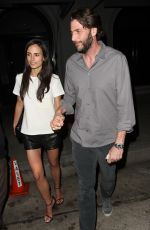 JORDANA BREWSTER and Andrew Form Out for Dinner in Los Angeles
