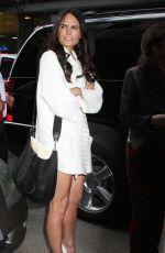 JORDANA BREWSTER Arrives at Good Day New York in Manhattan 04/23/2015