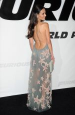JORDANA BREWSTER at Furious 7 Premiere in Hollywood