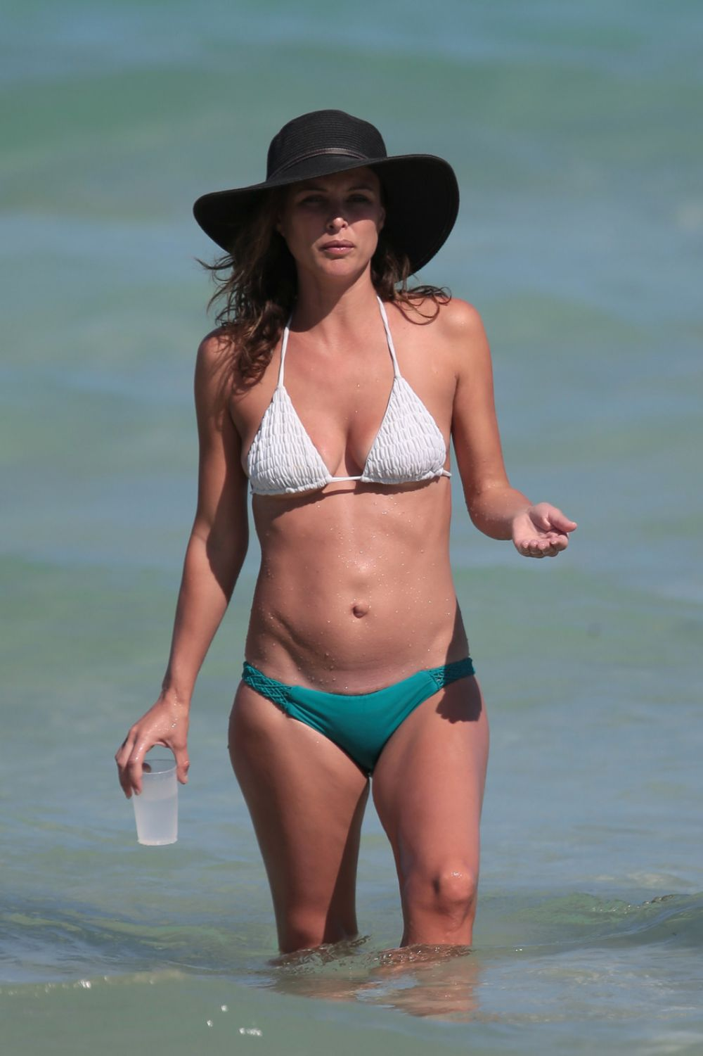 JOSIE MARAN in Bikini at a Beach in Miami