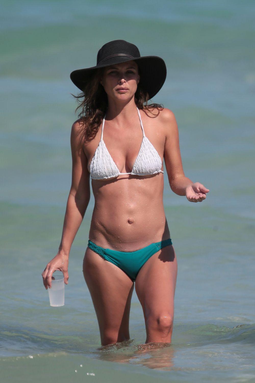 JOSIE MARAN in Bikini at a Beach in Miami