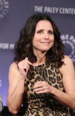 JULIA LOUIS-DREYFUS at Paley Center Hosts an Evening with Veep in New York