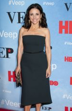 JULIA LOUIS-DREYFUS at Veep Season 4 Screening in New York