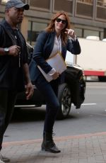JULIA ROBERTS Arrives on the Set of Money Monster in New York