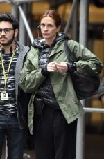 JULIA ROBERTS on the Set of Money Monster in New York 04/19/2015