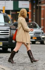 JULIA STILES Out and About in New York