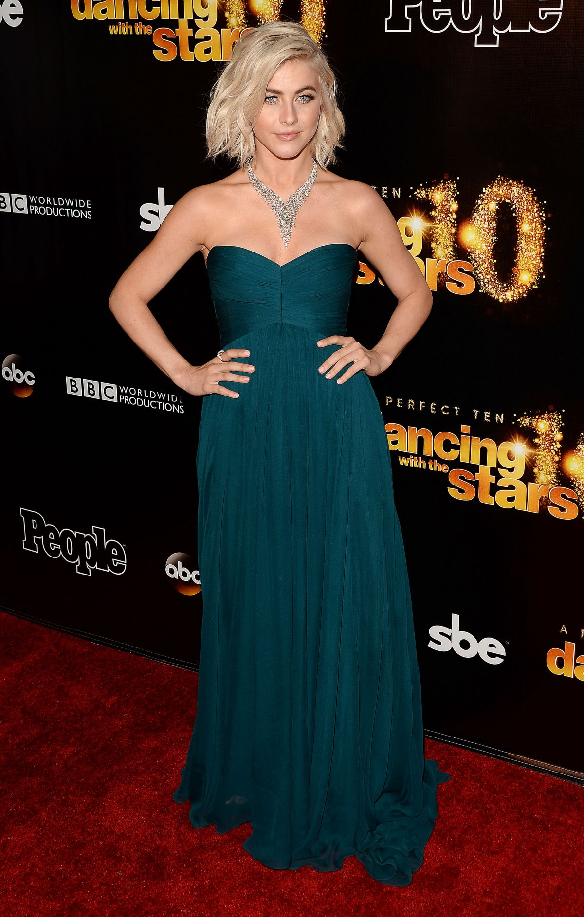 JULIANNE HOGH at Dancing with the Stars 10th Anniversary in West Hollywood