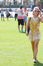JULIANNE HOUGH at Coachella Music Festival, Day 1