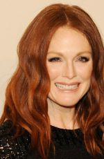 JULIANNE MOORE at Chanel Paris-Salzburg Metiers D'Art Collection Launch in New York