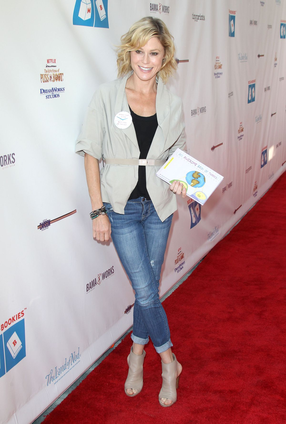 JULIE BOWEN at Milk + Bookies 2015 Story Time Celebration in Los Angeles