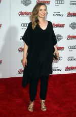JULIE DELPY at Avengers: Age of Ultron Premiere in Hollywood