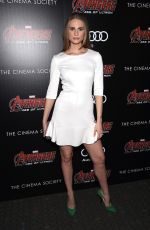 JULIE HENDERSON at Avengers: Age of Ultron Screening in New York