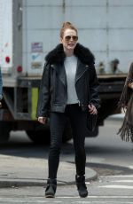 JULIEANNE MOORE Out and About in New York 04/28/2015