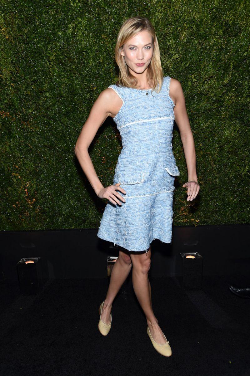 KARLIE KLOSS at Chanel Dinner at Tribeca Film Festival in New York