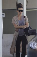 KATE BECKINSALE Leaves an Office in Beverly Hills